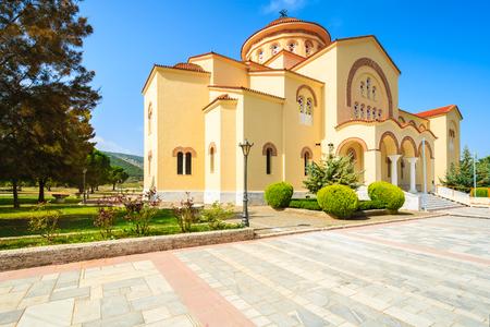 Gardens of old monastery Agios Gerasimos on Kefalonia island, Greece