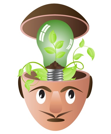 environment issue Stock Vector - 9929443
