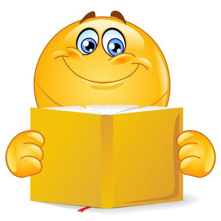 BOOK READER Stock Vector - 9942201