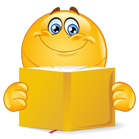smiley: BOOK READER