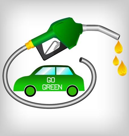 petroleum: bio diesel aislado en un fondo