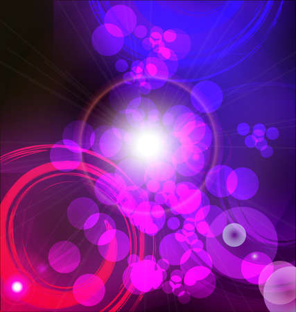Abstract lights background with lighting effect Stock Photo - 11161844