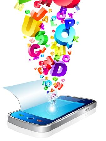 accessing: ejemplo de comunicador concepto con alfabets texto