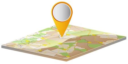 teaser: Mappa del mondo e dei segni sotto forma di un teaser per il sito