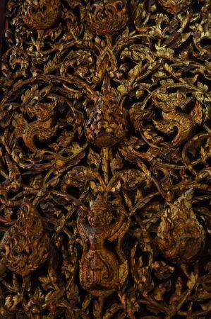 Garuda door Stock Photo