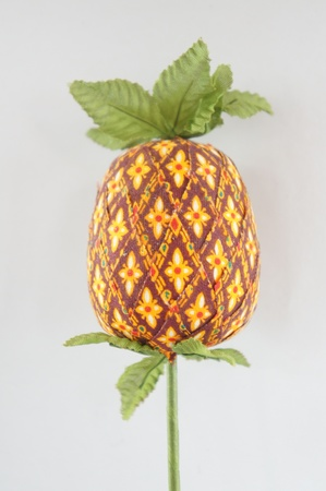 Fabrics made pineapple