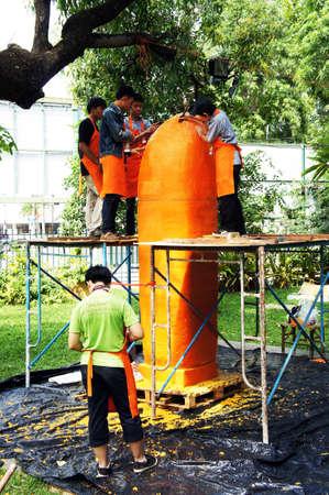 Ubon Candle Festival 2012