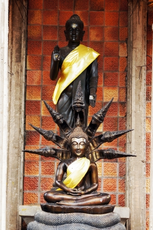 The statue in front of the church 4 Stock Photo - 14758492