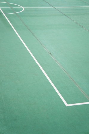 Sepaktakraw court photo