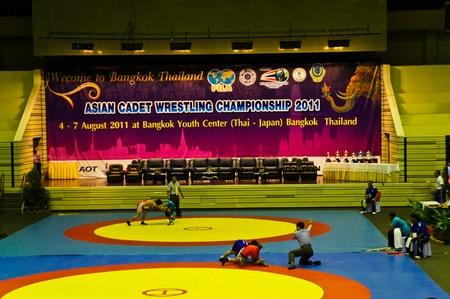 Asian cadet  wrestling championship 2011, 4-7 August 2011 at Bangkok Youth Center Bangkok Thailand. Inside Asian cadet  wrestling championship 2011.