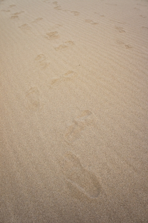 Footprints at 3000 Bok  photo