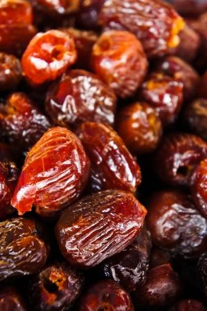 Dry red jujubes