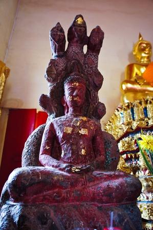 Small buddha statue in the church 2 Stock Photo - 21520002