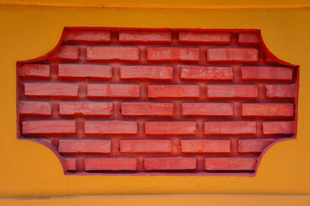parallels: Brick vents Stock Photo