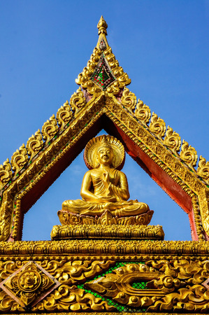 imbedded: Wat Phra That Rueang Rong 3 Stock Photo