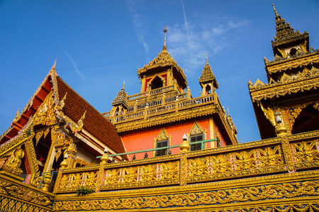 imbedded: Wat Phra That Rueang Rong  Stock Photo