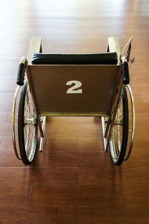 invalidity: Wheelchair in the hospital