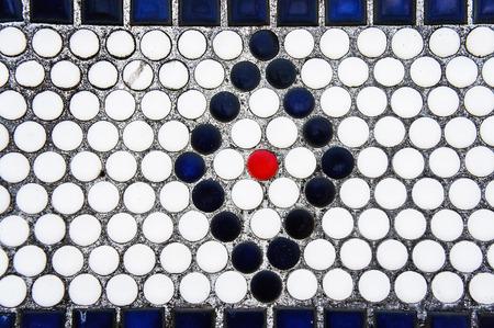 tiled: tiled wall