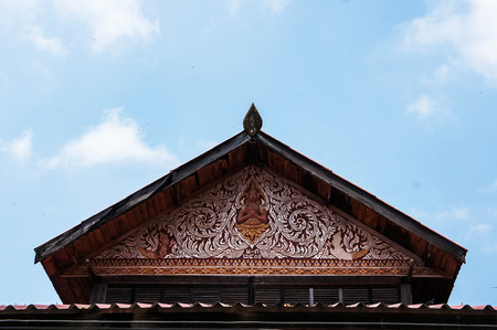 roof and sky