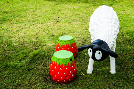 outdoor furniture: Strawberry chair