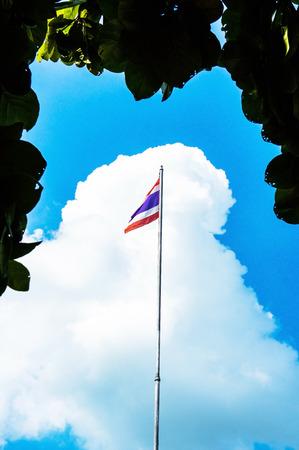 thai flag: Thai flag