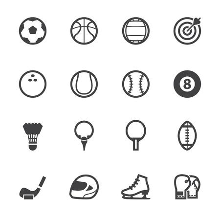 Iconos deportivos con fondo blanco Foto de archivo - 20232737