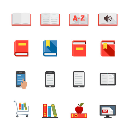 Book Icons Stock Vector - 28641551