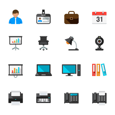 office icons: Business and Office Icons
