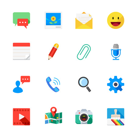 Chat Application Icons