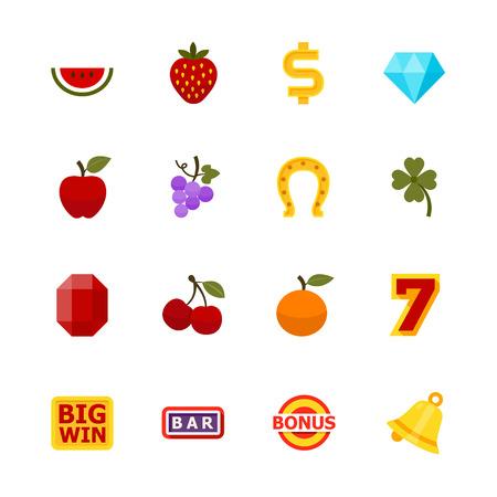 printing machine: Slot Machine Icons