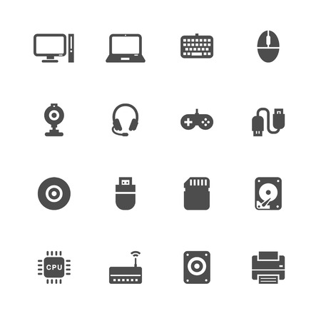 lcd monitor printer: omputer and and Computer Accessories Icons