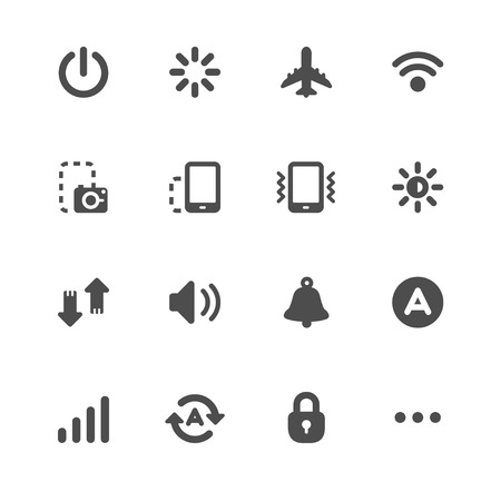 mobile operators: Mobile Phone Icons for application