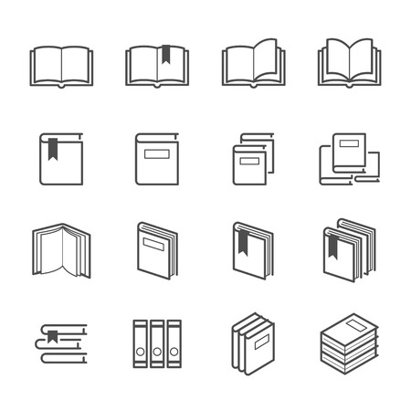 printing icon: Book Icons