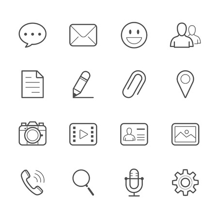 chat icons: Chat Icons for Application