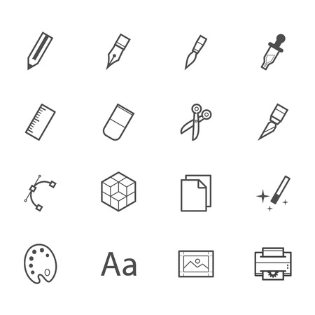 printing icon: Graphic Design Icons Illustration