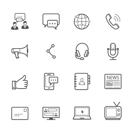 Communication Icons