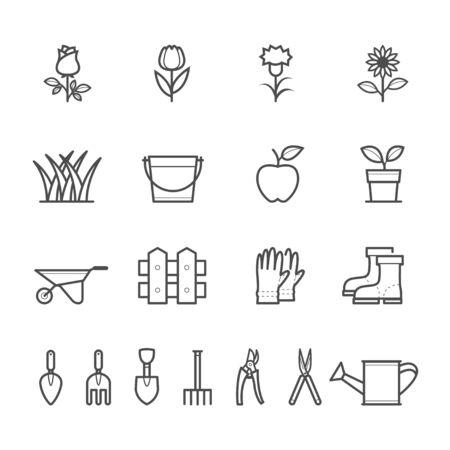 garden: Gardening Icons