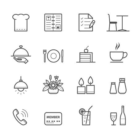 restaurant icons: Restaurant icons