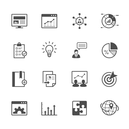consulting: SEO and Development Icons
