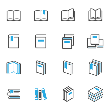 reading magazine: Book Icons