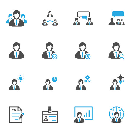 human resource: Management and Human Resource Icons
