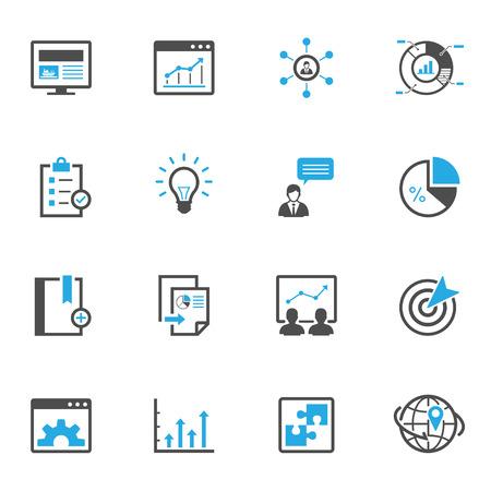 icono computadora: SEO y Desarrollo Iconos