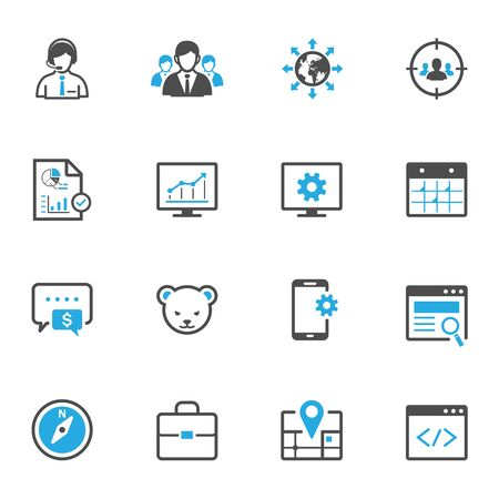 SEO en Ontwikkeling Icons