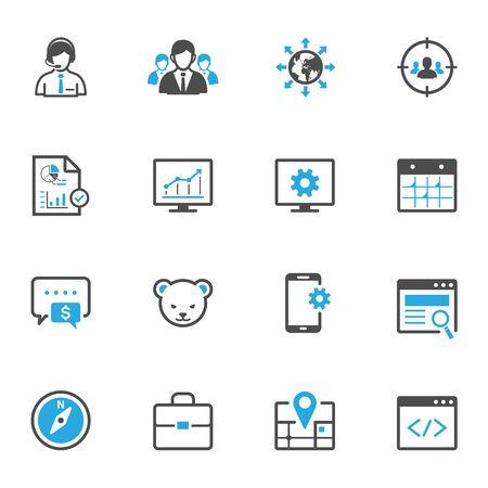 SEO and Development Icons
