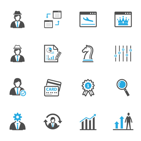 set design: SEO and Development Icons