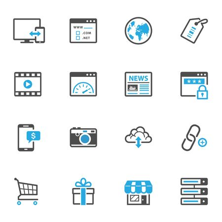 web icons: SEO and Internet Icons