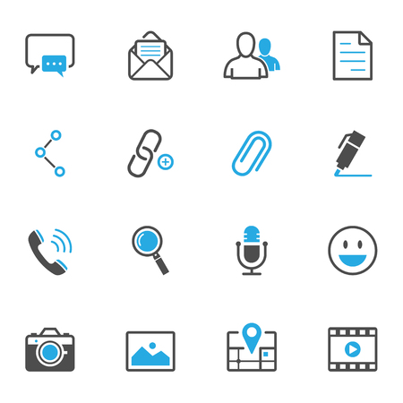 Chat Icons for Application