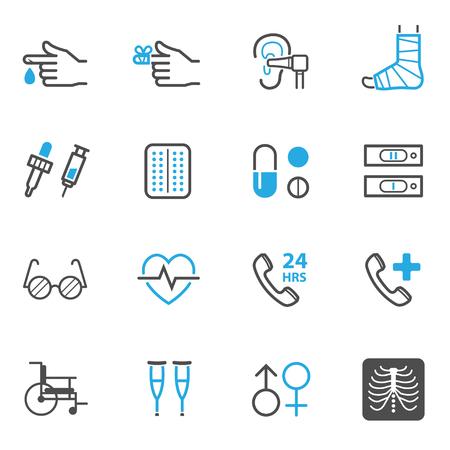 lugs: Medical Icons