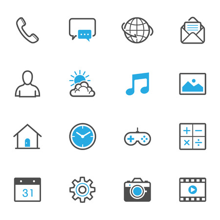 phone vector: Mobile Phone Icons