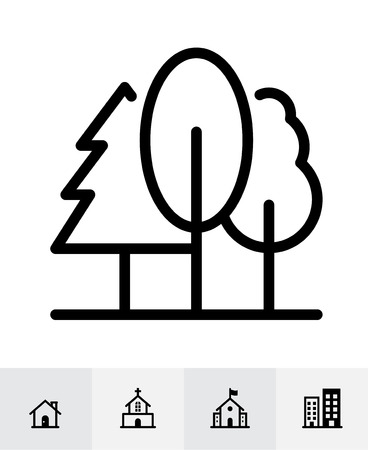 Map and location icons with White Background Banco de Imagens - 109588657